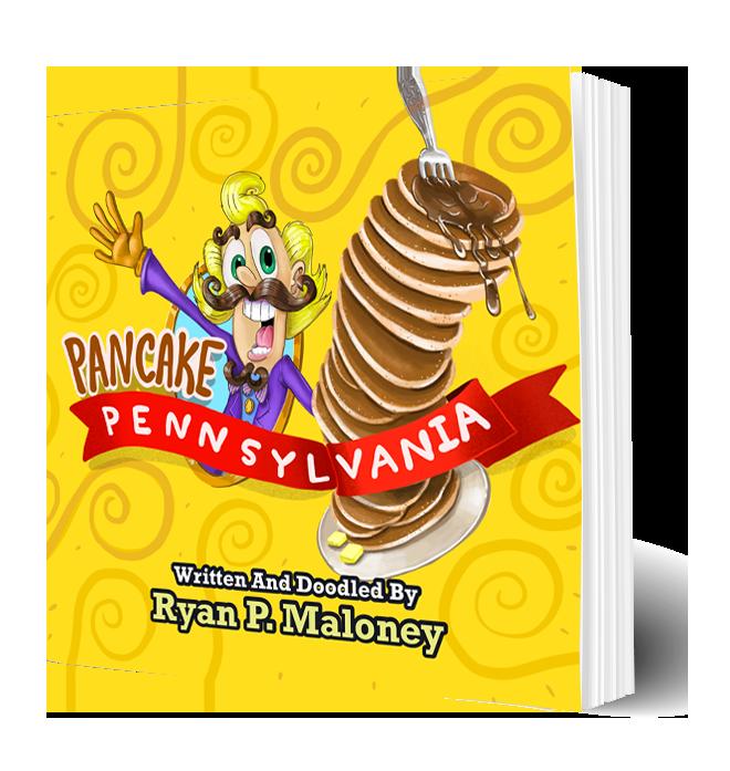 Pancake Pennsylvania picture book